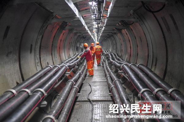 高压线不走铁塔进隧道 杭州南部首个电缆隧道完工投产
